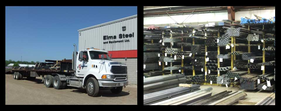 Elma Steel location and warehouse